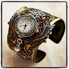 I think I'd actually wear a watch if I could have one like this