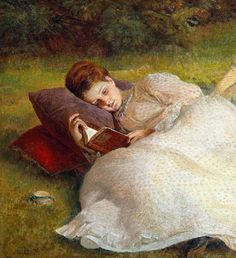James Archer - The Picnic (detail)