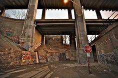LOST graffiti kansas city west bottoms. By aeionic