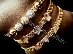 Bracelet en or rafinity