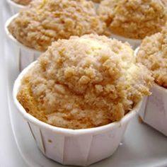 Cinnamon Streusel Orange Muffins Allrecipes.com