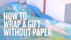 Impeccably wrapped gifts are beautiful to behold. But wouldn't it be even better if we didn't waste so much paper? All you need is a silk scarf or furoshiki (Japanese wrapping cloth) and voilà! You've got yourself a brand-new way to wrap presents with an eco-friendly twist (and a bonus gift for the recipient, lucky duck).