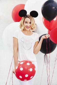 Complete with a pink tulle bow, this Minnie Mouse character tee from LC Lauren Conrad is simply charming.