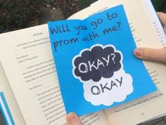 The Fault in Our Stars-inspired promposal... what more could you ask for?