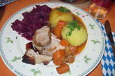 Bayerischer Schweinebraten mit Biersauce