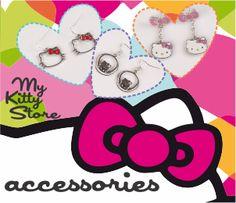 Fii mereu in pas cu moda cu accesoriile Hello Kitty. Realizate din materiale fine, metal, plastic, tesaturi sau incrustate cu detalii pretioase, accesoriile Hello Kitty sunt potrivite oricarei ocazii, atragand toate privirile. — at Iulius Mall Timisoara.