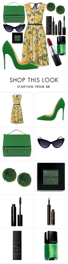 """""""Vintage"""" by blackgirll ❤ liked on Polyvore featuring Marc Jacobs, Givenchy, Panacea, Bobbi Brown Cosmetics, Lancôme, NARS Cosmetics, Illamasqua, MAC Cosmetics and vintage"""