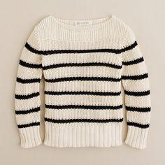 j.crew boys stripe sweater