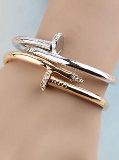 Free shipping 2014 Bracelet female accessories rose gold rhinestone vintage accessories fashion bangle US $9.65 - 12.80