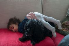 How it is to have a baby or a toddler and a dog or even dogs? I´ve always imagined my life with a hubby, kids and pets, just like we all know this kind of. Dogs And Kids, Two Dogs, Animals For Kids, Brave, Sleeping A Lot, Everything Has Change, Love You Baby, Cute Toddlers, Pets