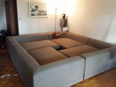 Pit Sectional Couches create a relaxing environment with the clio 4 piece pit group