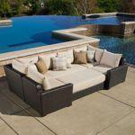 Paradiso 6-piece Deep Seating Modular Sectional