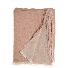 Vice Versa Linen Throw via @calypsostbarth