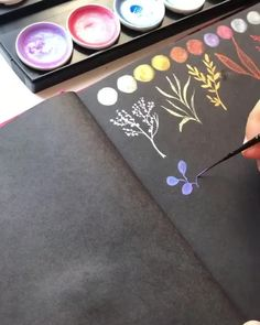 Watercolor process video by Art Philosophy Design Team Member Panchi. You can find her at @brushpaint.n.everything Click to see all our watercolor products.  #artphilosophy  #primamarketinginc  #contentcreator #watercolor #art  #artist #illustration #painting    #watercolorart #watercolors #watercolour #howtopaint      #watercolourpainting    #watercolorpainting  #watercolorist #watercolorartist #primamarketinginc #video #processvideo #watercolorvideo Watercolor Brush Pen, Watercolor Video, Watercolour Tutorials, Watercolour Painting, Black Paper Drawing, Let's Make Art, Scrapbook Journal, Craft Corner, Team Member