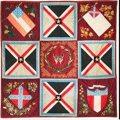 Civil War Quilts: Varina Davis's Butterfly Quilt