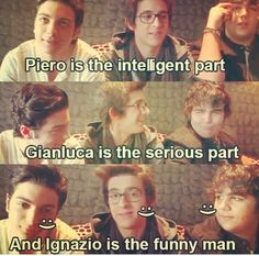 IL VOLO - Personality descriptions given of the boys, by the boys! Piero Barone, Ignazio Boschetto & Guianluca Ginoble ❤❤❤