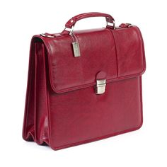 ClaireChase Tuscan Briefcase - Red | from hayneedle.com