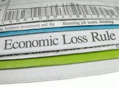 Sharkey on the Economic Loss Rule in Products Cases - http://www.adrtoolbox.com/2016/05/sharkey-economic-loss-rule-products-cases/