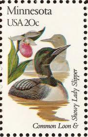 Minnesota state stamp