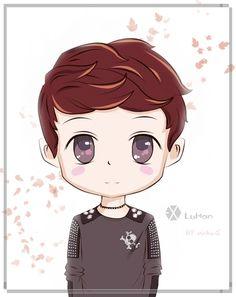 EXO chibi   nisha941009 : RT @UnitedEXO: [FANART]EXO-M: Chibi Luhan (cr:as tagged ...