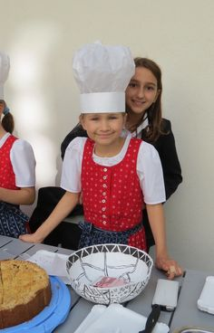 Service Day in October each year - bake sale to raise money for charity