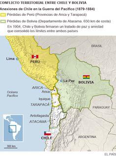 Juízes da ONU aceitam avaliar a demanda da Bolívia e vão julgar o pedido do país de recuperar o acesso ao oceano Pacífico
