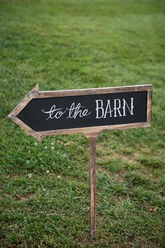 wedding signs // Engage!13: Barn Party // engage13.com at the Biltmore Estate www.biltmore.com/