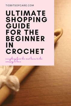 Find out what you need to get started when you first start crocheting! Learn To Crochet, Crocheting, Blog, Shopping, Crochet, Blogging, Knits, Lace Knitting, Quilts