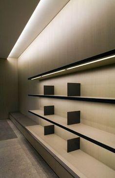 Interior, Van Loock store in Zandhoven (2005) by Vincent Van Duysen _: