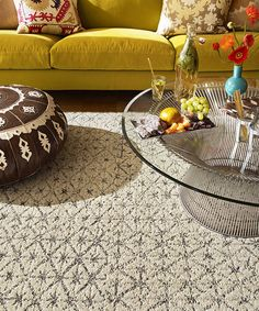 Love this Cream Vintage Vibe Rug Square Set on #zulily! #zulilyfinds