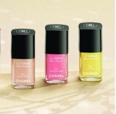 Esmalte de uñas de Chanel para esta primavera verano 2012