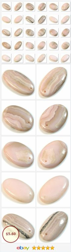 Natural Pink Aragonite FRONT DRILLED Oval Pendant Bead Collection | eBay http://www.ebay.com/itm/Natural-Pink-Aragonite-FRONT-DRILLED-Oval-Pendant-Bead-Collection-/362089905381