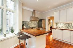 Bolig til salgs Real Estate, Kitchen, Home Decor, Cooking, Decoration Home, Room Decor, Real Estates, Kitchens, Cuisine