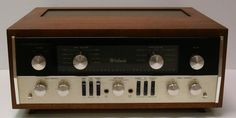 Classic McIntosh C-22 preamp was considered an ultimate component.