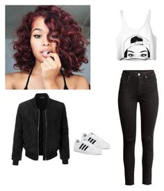 Designer Clothes, Shoes & Bags for Women My Outfit, Polyvore Fashion, Friendship, Adidas, Crop Tops, Clothing, Stuff To Buy, Outfits, Shopping
