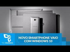 VAIO lança seu primeiro smartphone com Windows 10 Mobile, o Phone Biz - YouTube