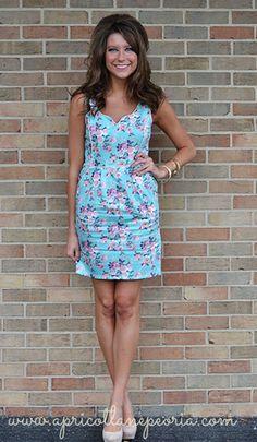 a6fd5d638 Garden Party, $49.00 Apricot Lane Boutique, Summer Chic, Dress For Success,  Virtual