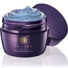 Tatcha Indigo Soothing Silk Body Butter. For all skin types, especially sensitive, inflamed or irritated skin consistent with symptoms of dermatitis, eczema and rosacea.