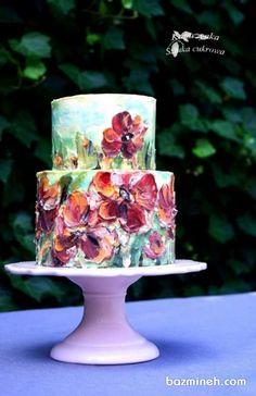 Cake Wrecks - Home - 10 Crafter's Cakes That Will Totally Fool You (Katarzynka Sztuka Cukrowa, Poland) Gorgeous Cakes, Pretty Cakes, Cute Cakes, Amazing Cakes, Bolo Floral, Floral Cake, Decoration Patisserie, Cake Wrecks, Cake Decorating Techniques