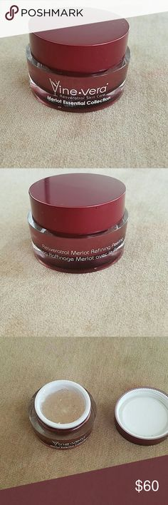 Vine Vera  skin care (Merlot essential collection) Only used twice, works amazing!!! vine vera Other