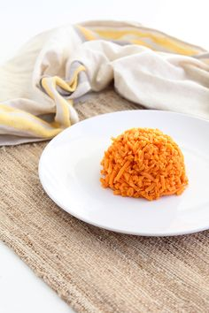 Inspiralized Rice: The Perfect Side Dish  sweet potato 'rice'