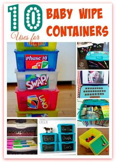 With the new cooler looking wipe containers comes my ardent desire to keep them all, compound that with my daughters love of Frozen and the fact that we all use diaper wipes in the house forone thing or another I started to scour the internet for more and more uses for these handy dandy containers. …