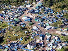 Le Jungle, Calais Refugee Camp