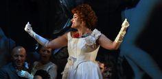 Anna Corvino (Violetta), Atto II - foto Roberto Ricci (29/10/2014)