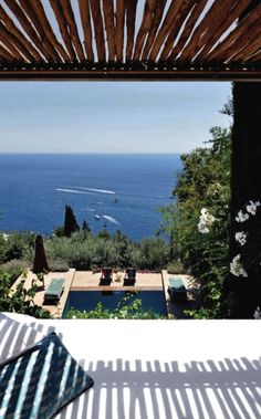 summer retreat in Capri