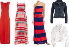 fourth of july maxi dresses