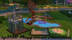 Playground Additions at SG5150 via Sims 4 Updates