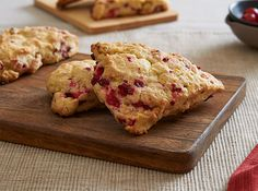 Orange  Cranberry Scones on Clabbergirl.com