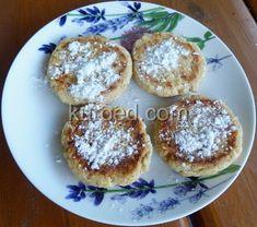 Сырники с овсяной мукой, испеченные в духовке
