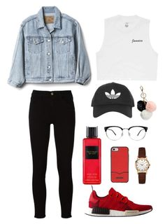 """""""Untitled #7"""" by natashazein on Polyvore featuring adidas, Frame, Billabong, Gap, Topshop, Rebecca Minkoff, Bulova, Victoria's Secret and GUESS"""